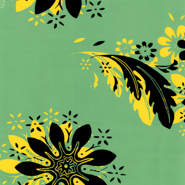 Florentine Floral Green