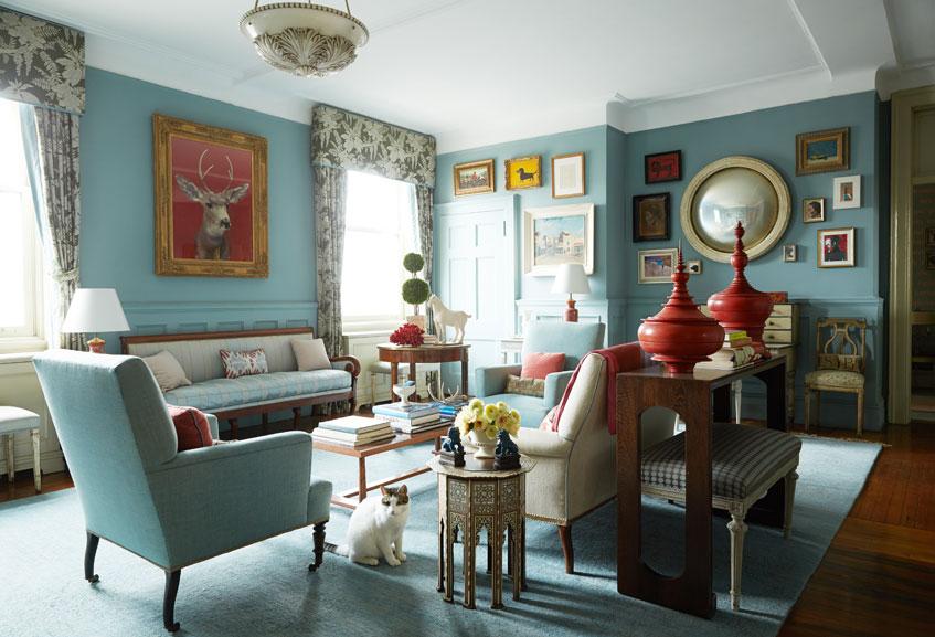 Harlem Landmark Living Room