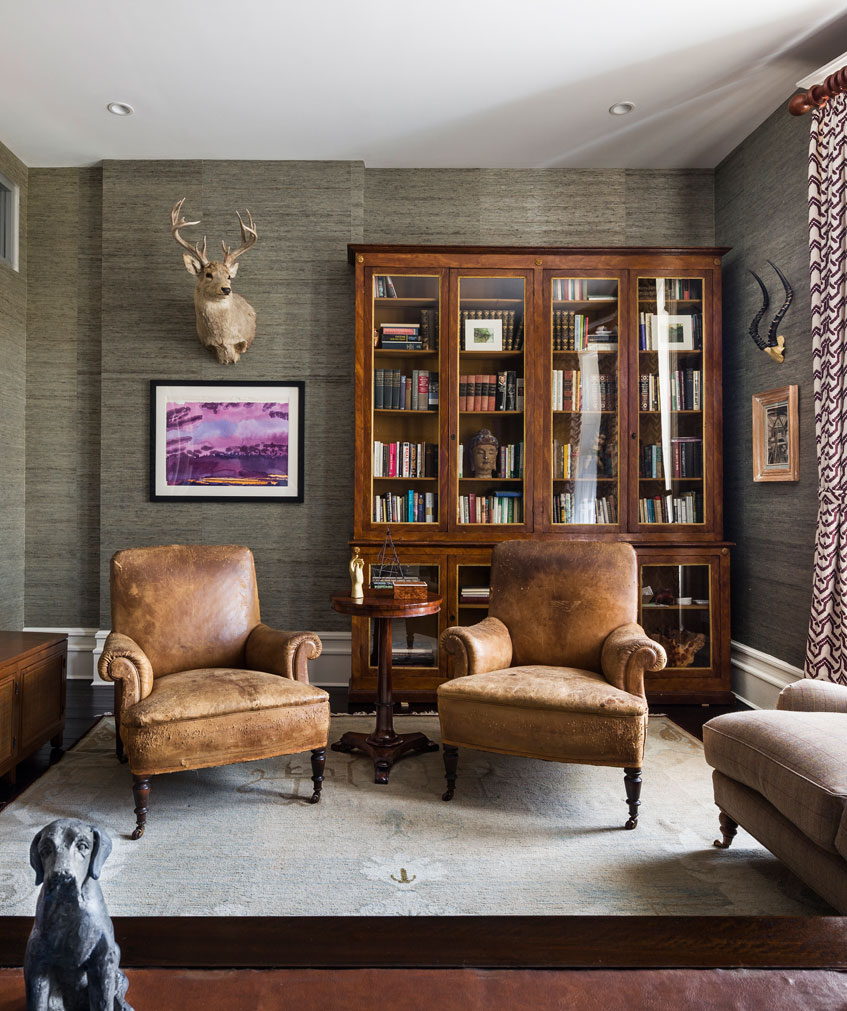 Harlem Townhouse Library