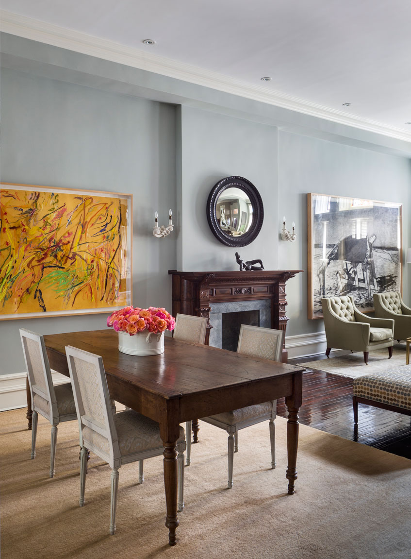 Harlem Townhouse Dining Room