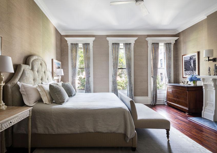 Harlem Townhouse Bedroom
