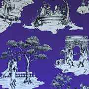 Harlem Toile Purple