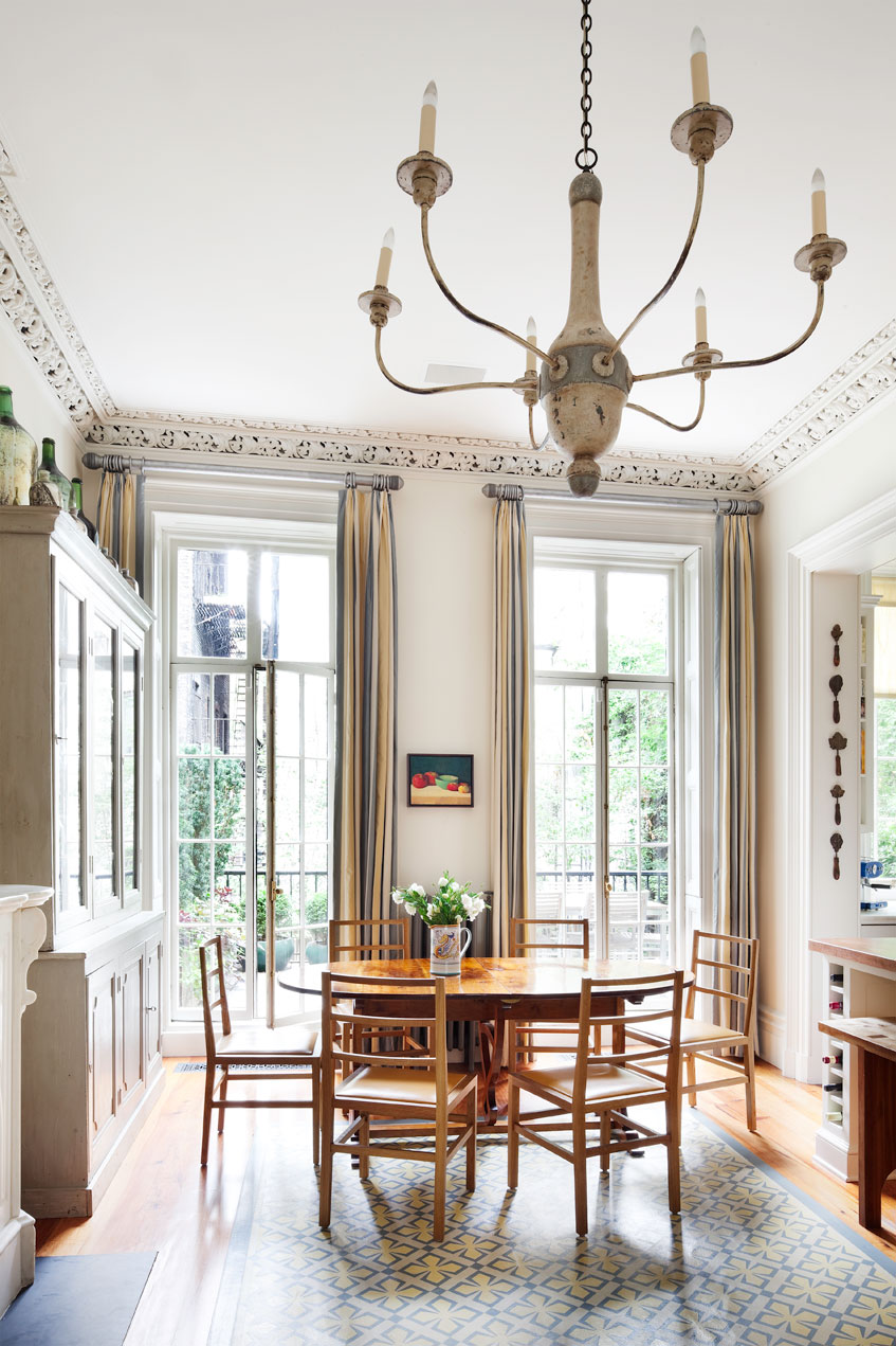 Manhattan Townhouse Dining Room