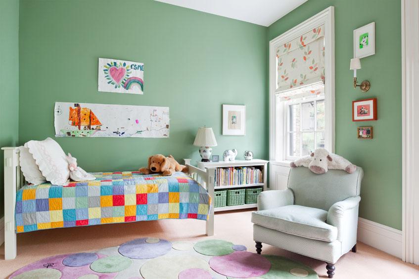 Manhattan Townhouse Girl's Bedroom