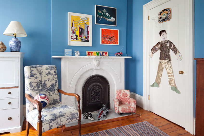 Manhattan Townhouse Boy's Bedroom