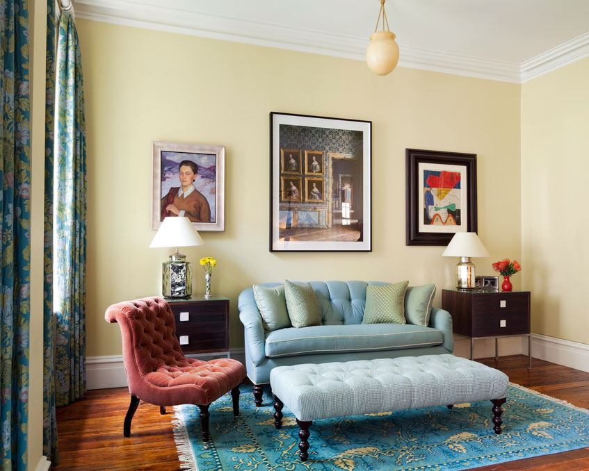 Manhattan Townhouse Bedroom