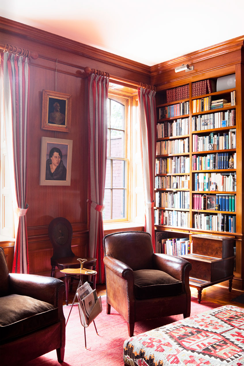 Manhattan Townhouse Library
