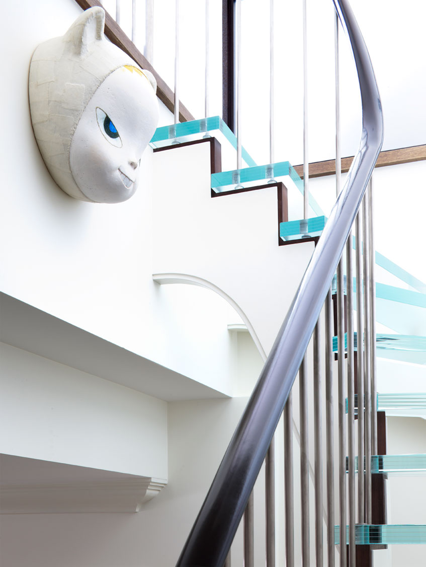 Penthouse Staircase Detail
