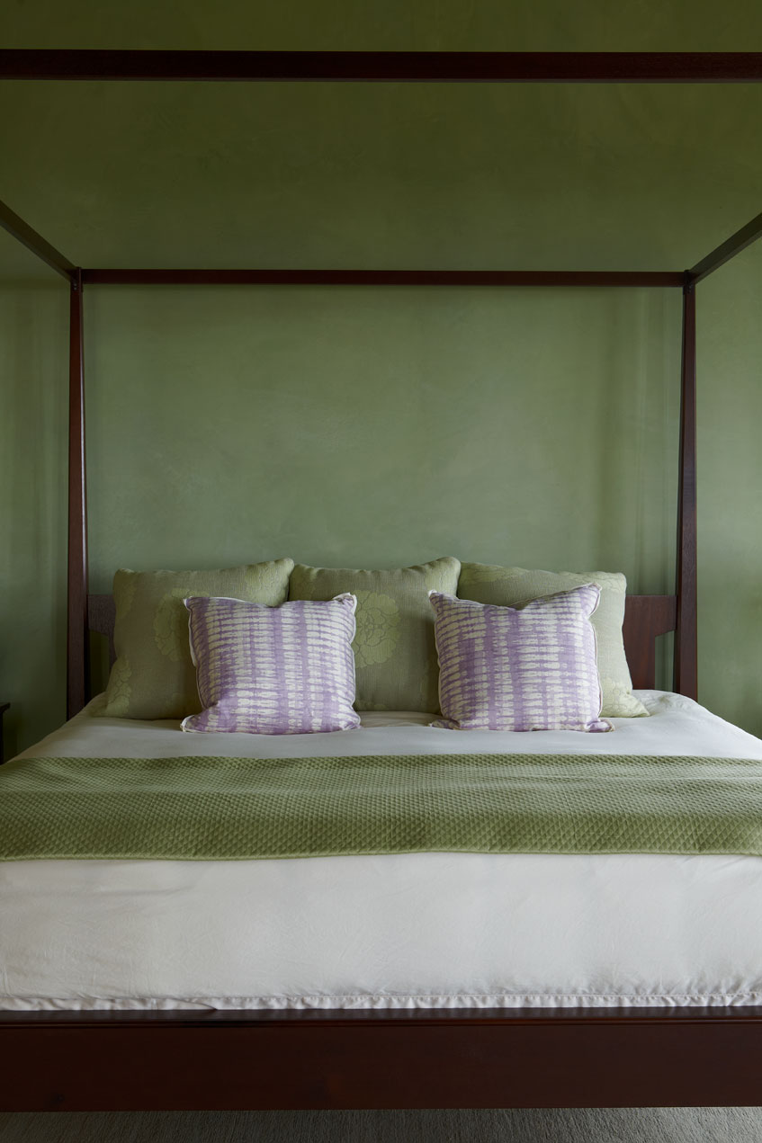 Santa Barbara Master Bedroom Detail