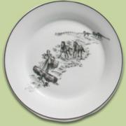 Harlem Toile Plate