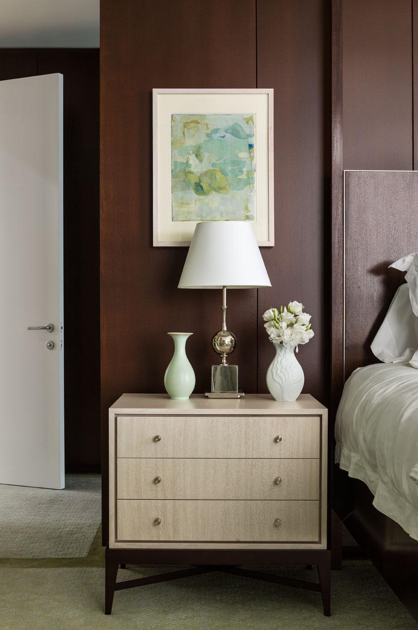 West Village Bedroom Detail