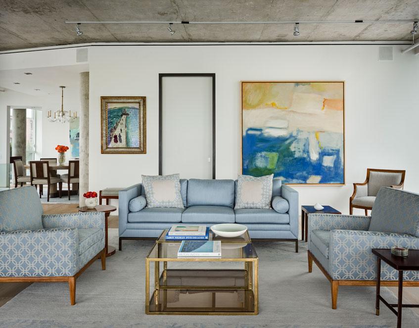 West Village Living Room
