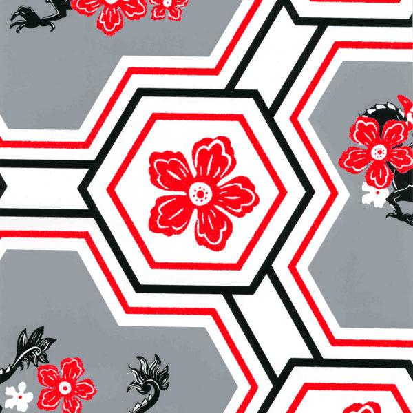 Dragon Flower Red