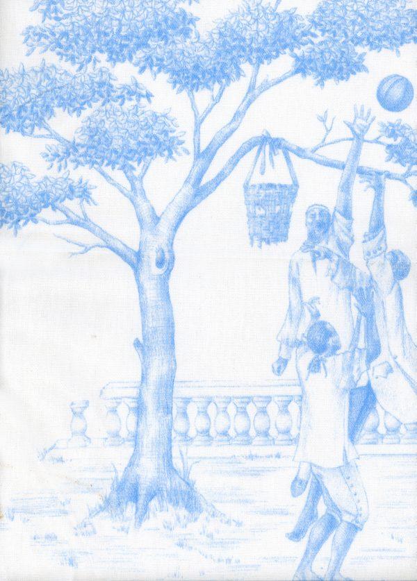 Harlem Toile Hydrangea