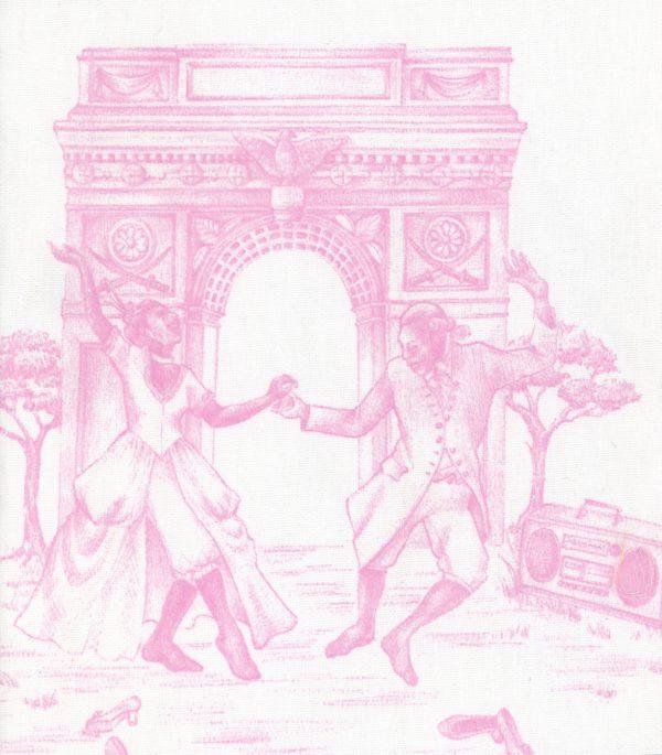 Harlem Toile Pink