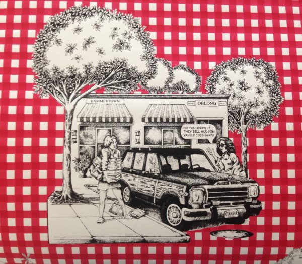 Hudson Valley Toile Red Gingham