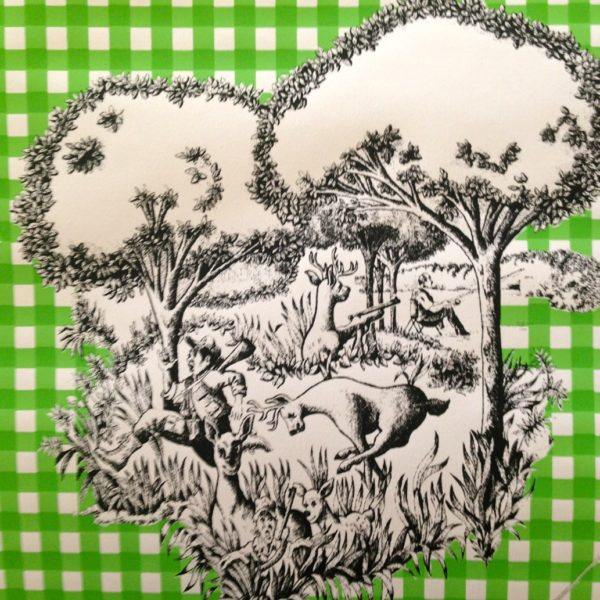 Hudson Valley Toile Green Gingham
