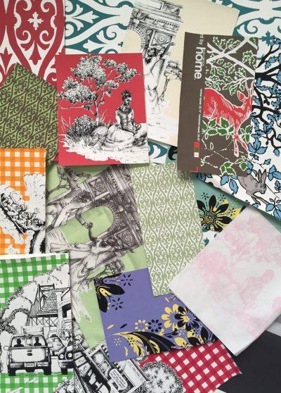 Wallpaper & Fabric Samples