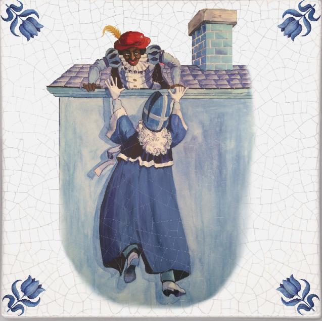 Zwarte Piet Black Pete Wallpaper Sheila Bridges