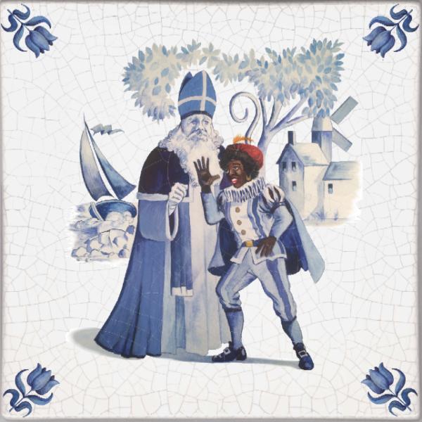 Zwarte Piet detail