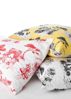Harlem Toile Pillows