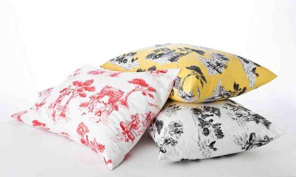 Harlem Toile Pillows